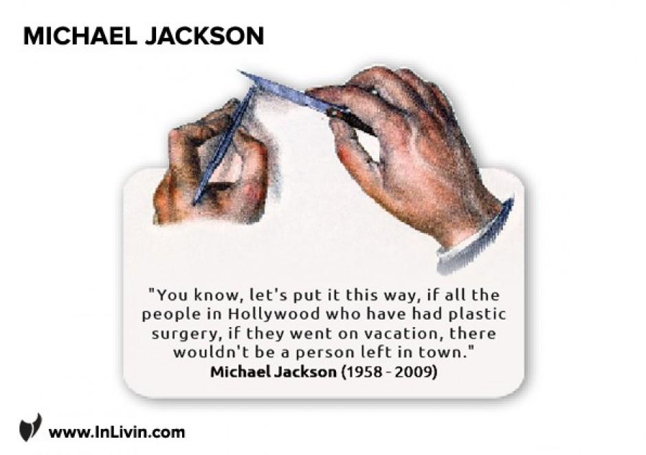 Michael Jackson On Plastic People