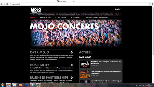 Mojo Concerts and Events