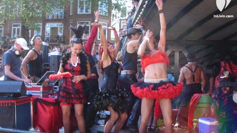 Gay Pride Amsterdam - LGBT Canal Boat Parade Events, Parties and History.