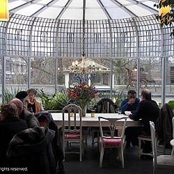 GLG de Roos greenhouse cafe